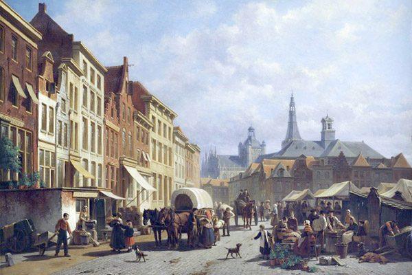 17e Eeuwse markt